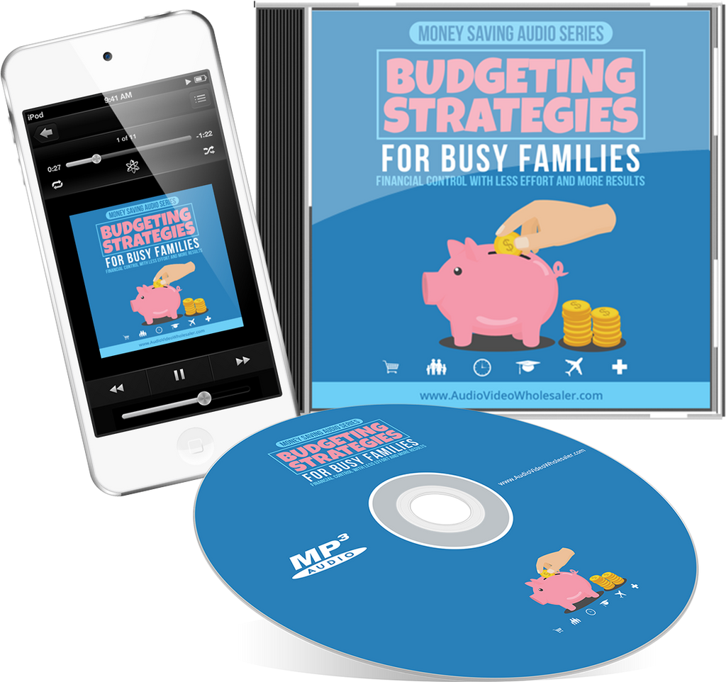 Budgeting Strategies For Busy Families Audio Book (Master Resell Rights License)