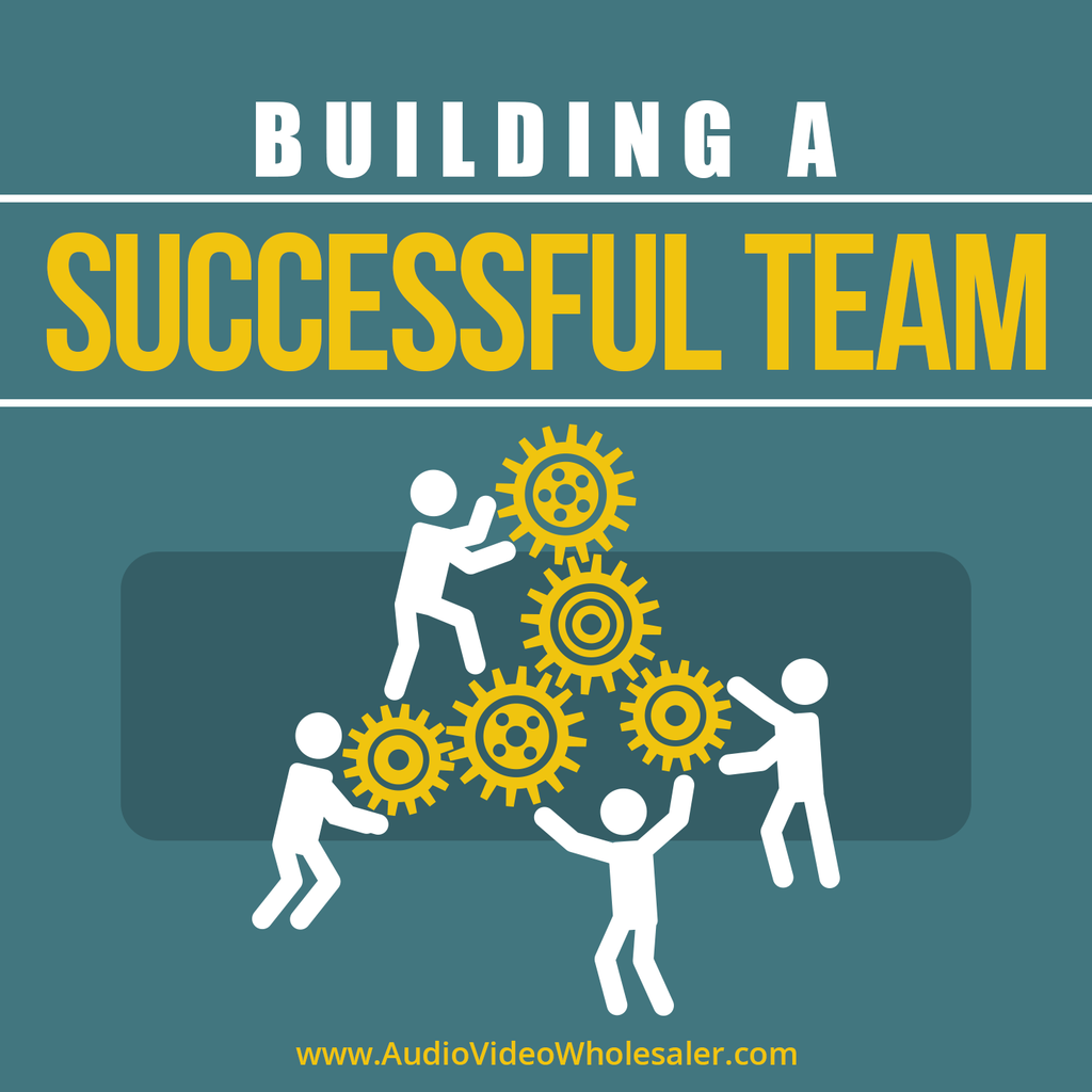 Building a Successful Team Self Help Audio Book (Master Resell Rights License)