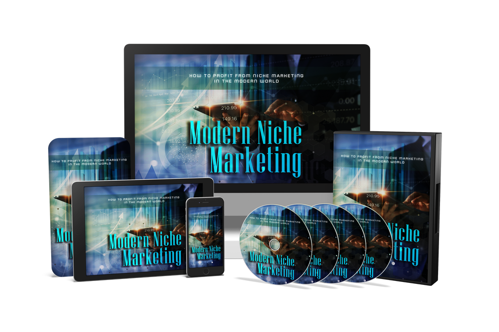 Modern Niche Marketing Course (Audios & Videos)