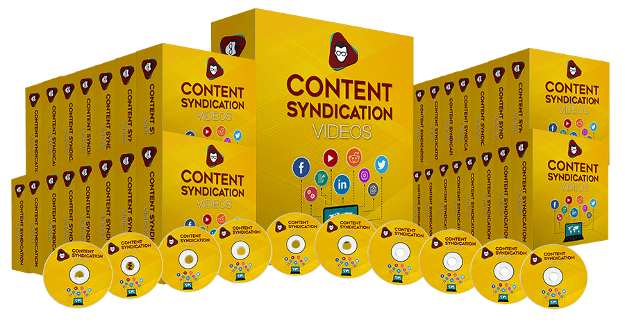 Content Syndication (Audios, eBooks & Videos)