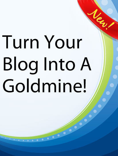 Turn Your Blog into a Goldmine  PLR Ebook