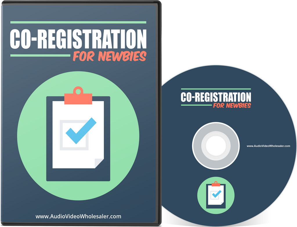 Co-Registration for Newbies (Audio Video Course)