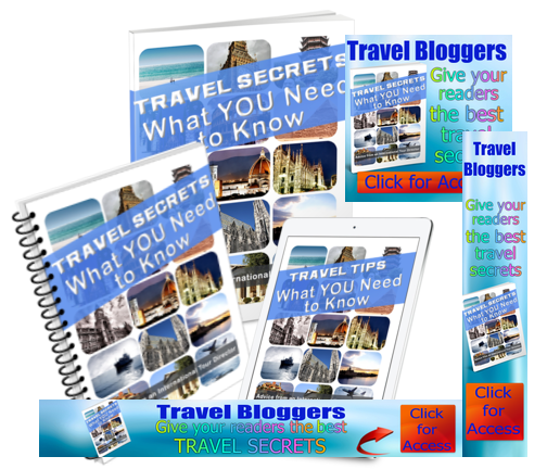 Travel Secrets - What You Need To Know (Audios, eBook & Videos)