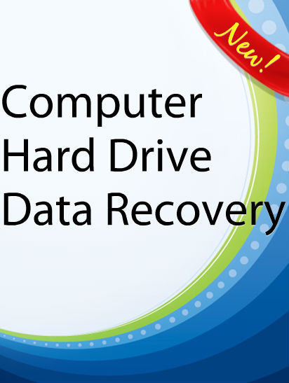 Computer Hard Drive Data Recovery  PLR Ebook