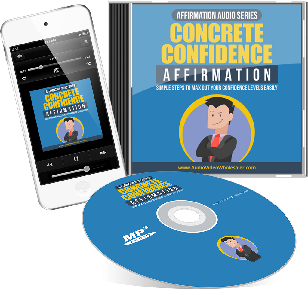Concrete Confidence Affirmation Expansion Audio Book (Master Resell Rights License)