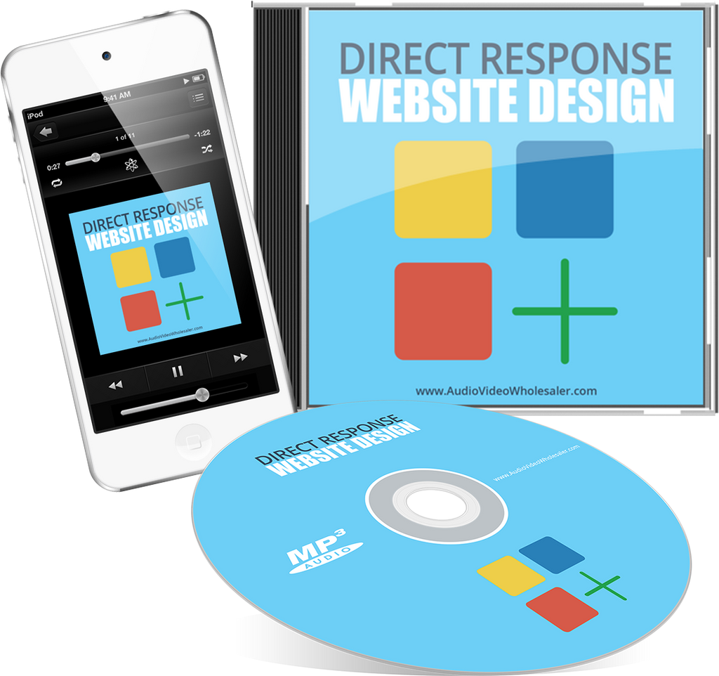 Direct Response Website Design Audio Book (Master Resell Rights License)