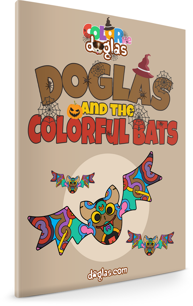 Doglas and the Colorful Bats
