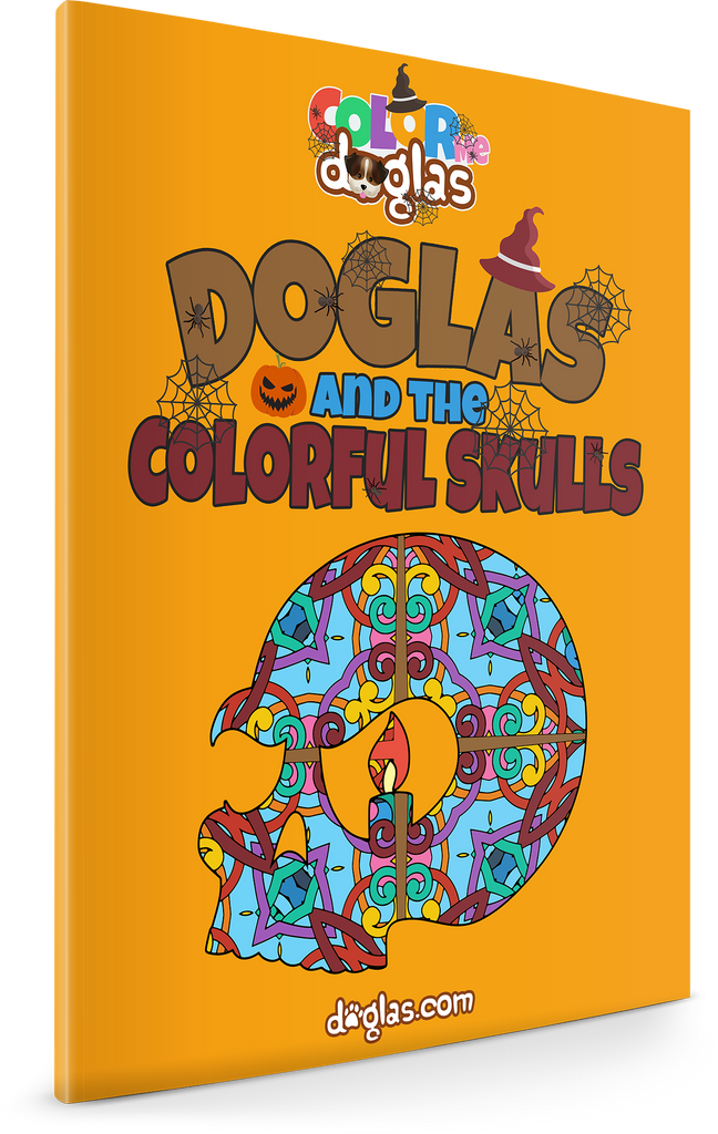 Doglas and the Colorful Skulls