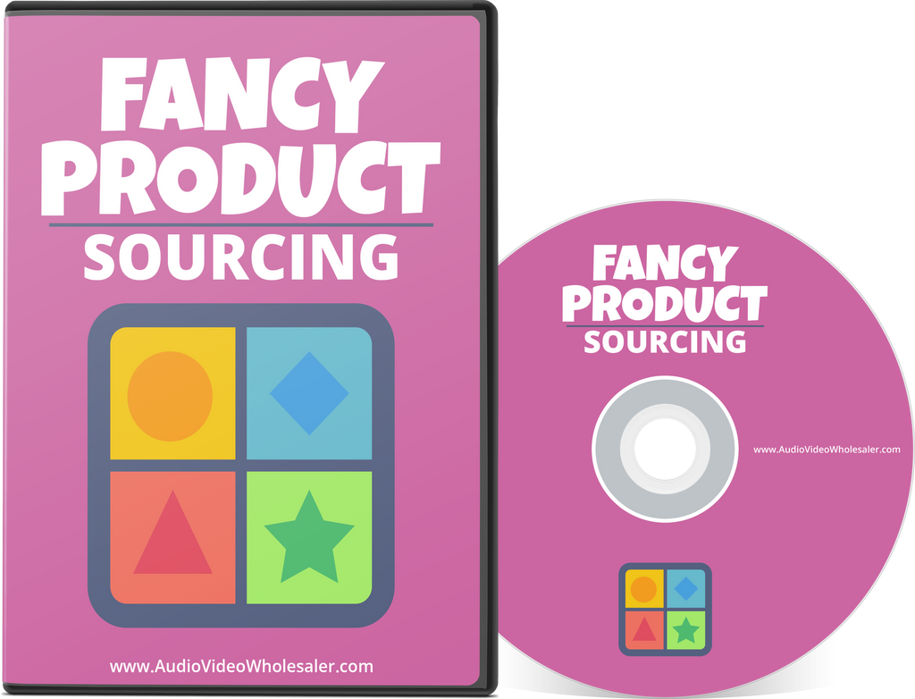 Fancy Product Sourcing (Audio Video Course)