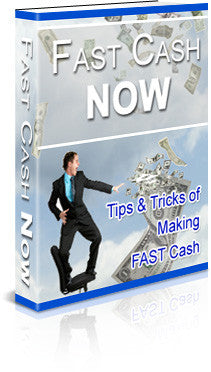 Fast Cash Now (Audio & eBook)