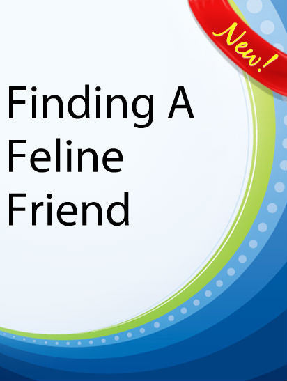 Finding a Feline Friend  PLR Ebook