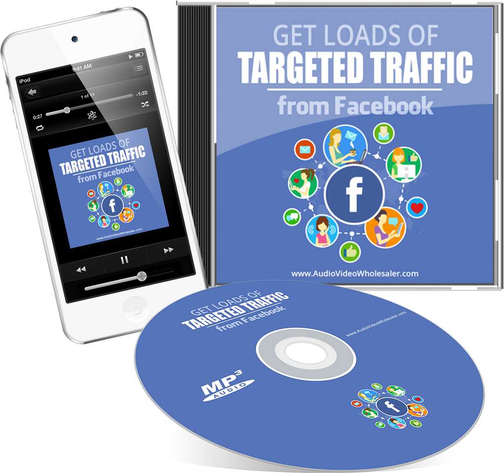 Get Loads of Targeted Traffic from Facebook Audio Book (Master Resell Rights License)