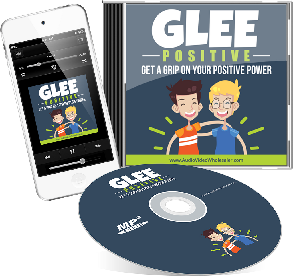 Glee Positive Audio Book (Master Resell Rights License)