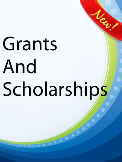 Grants and Scholarships  PLR Ebook