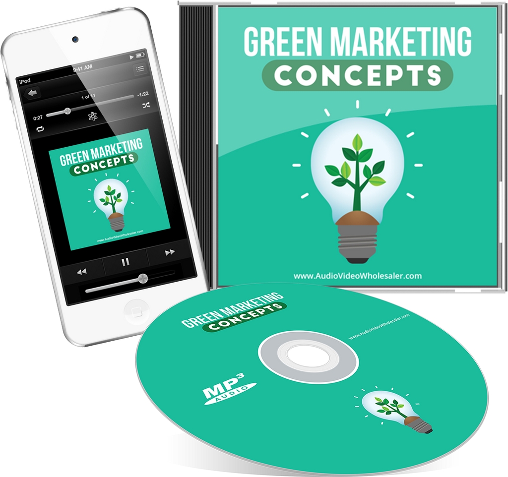 Green Marketing Concepts Audio Book (Master Resell Rights License)