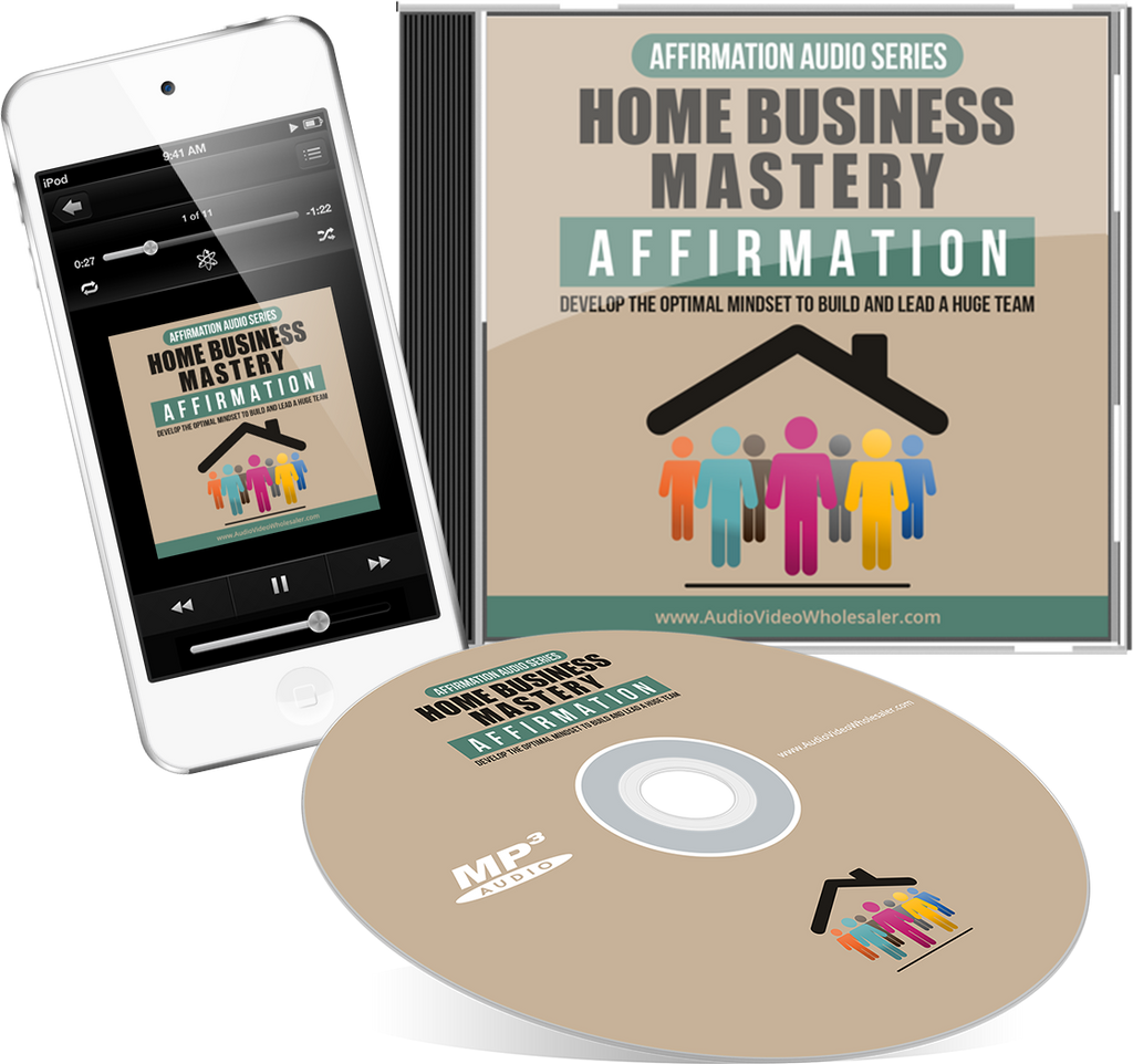 Home Business Mastery Affirmation Audio Book (Master Resell Rights License)