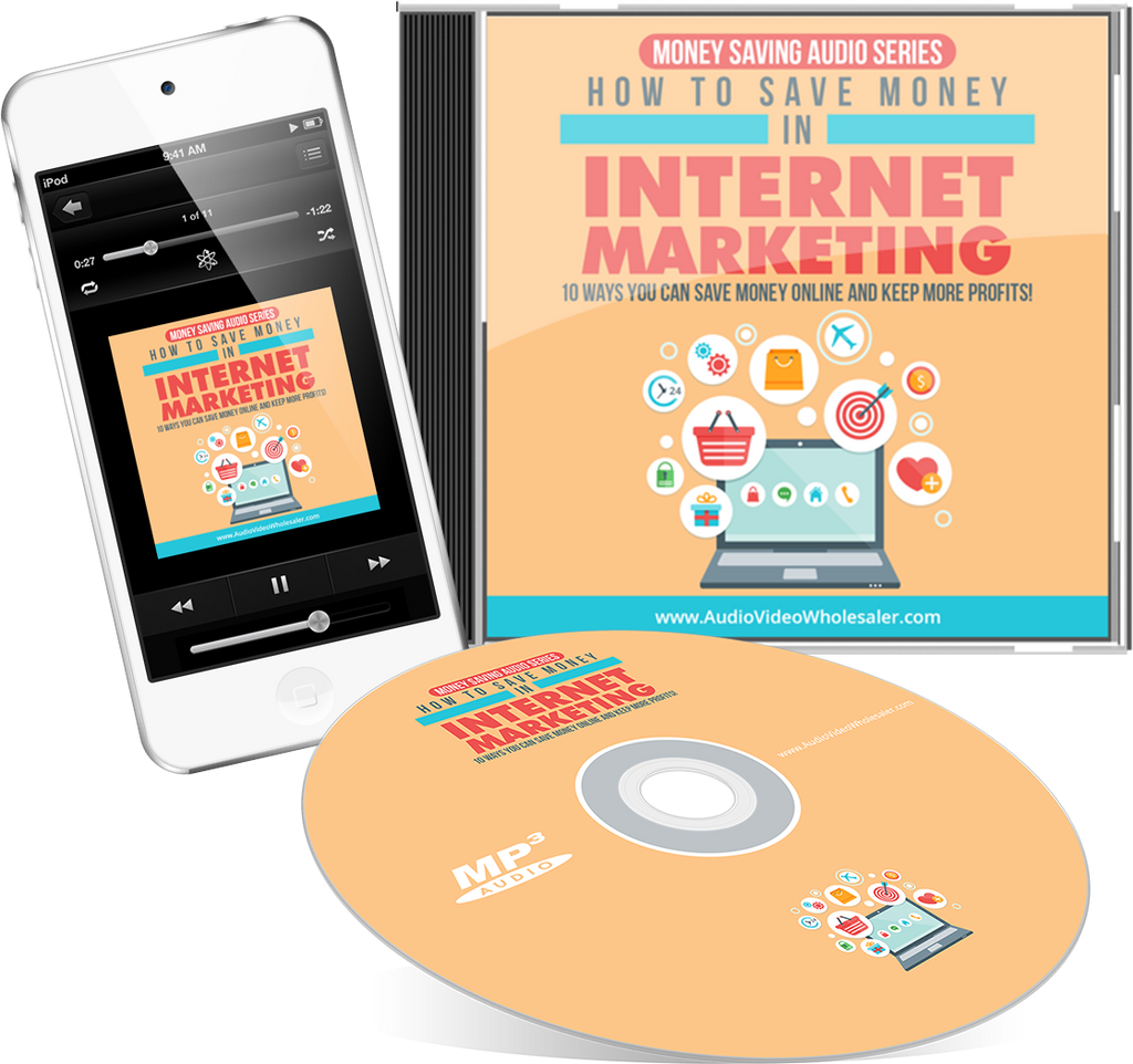 How To Save Money In Internet Marketing Audio Book (Master Resell Rights License)