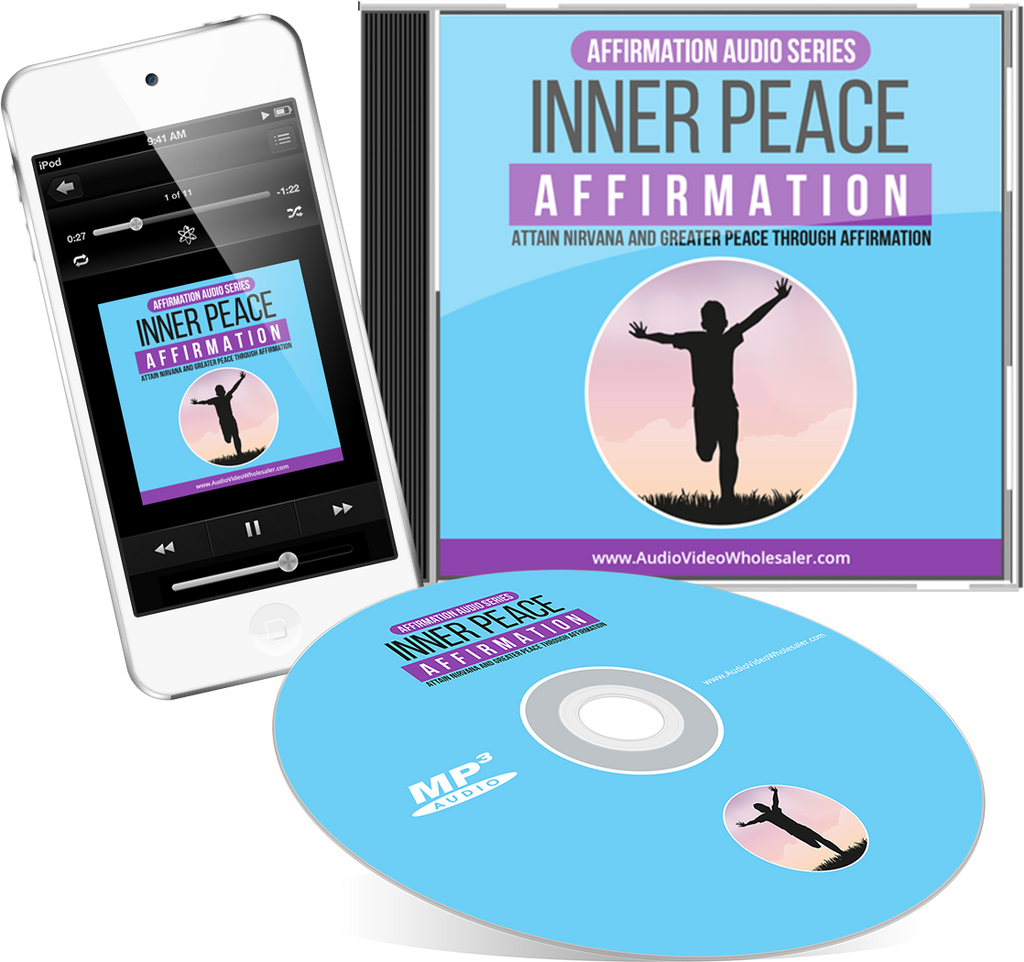 Inner Peace Affirmation Expansion  Audio Book (Master Resell Rights License)