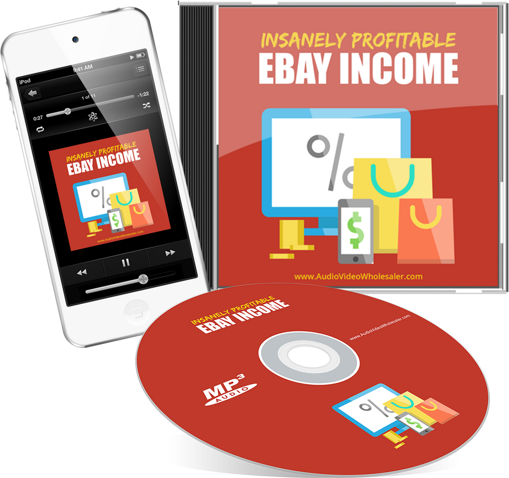 Insanely Profitable eBay Income Audio Book (Master Resell Rights License)