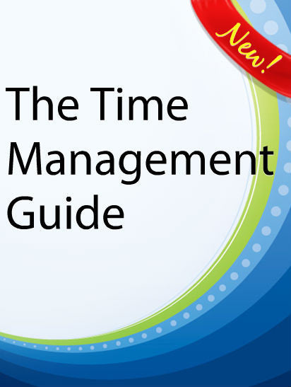 The Time Management Guide  PLR Ebook