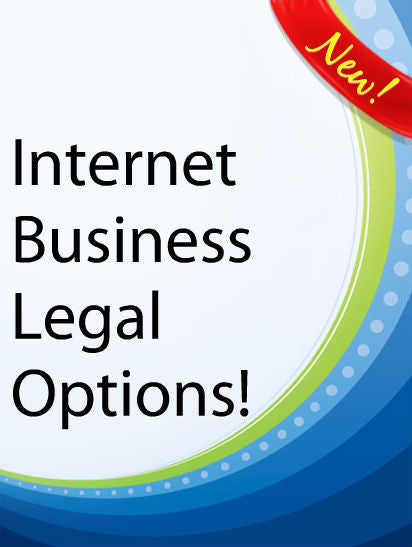 Internet Business Legal Options  PLR Ebook