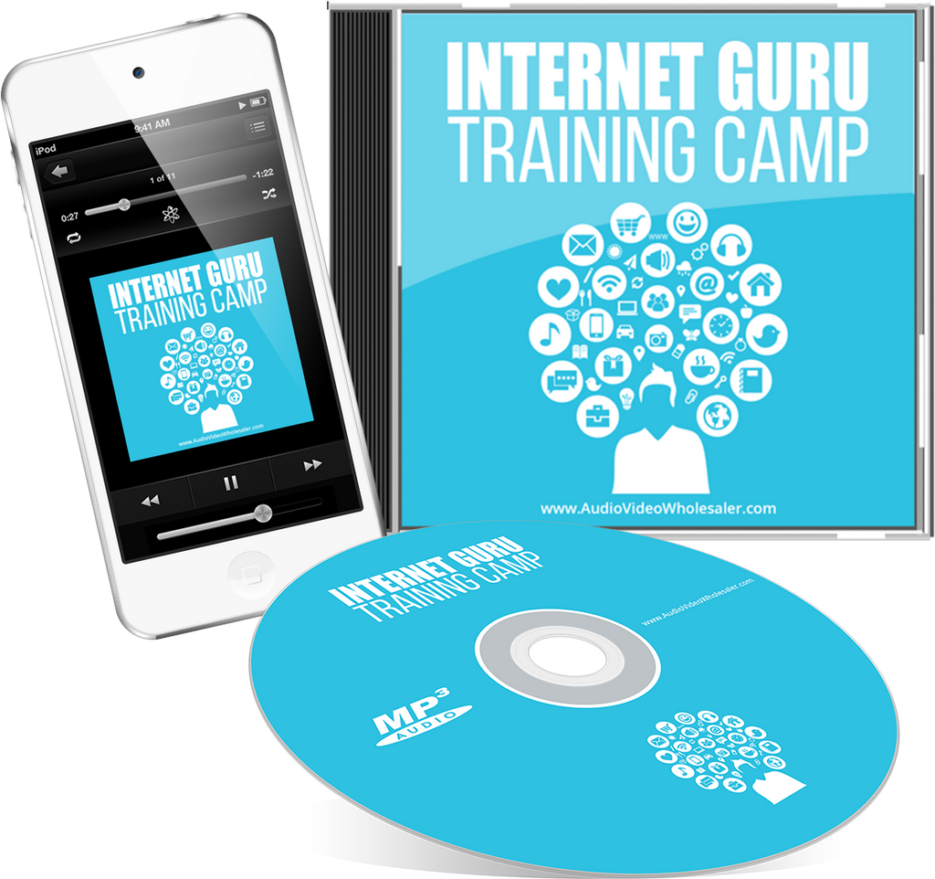 Internet Guru Training Camp Audio Book (Master Resell Rights License)