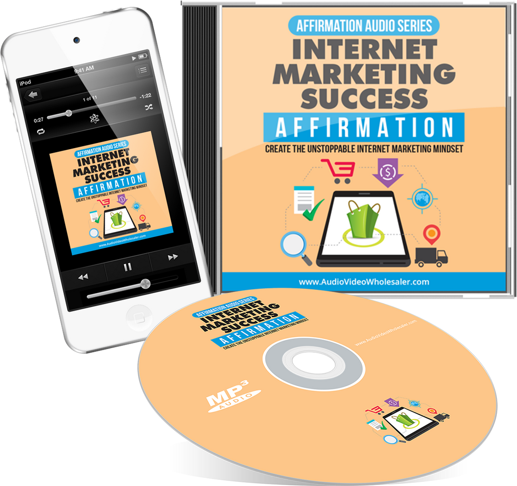 Internet Marketing Success Affirmation Audio Book (Master Resell Rights License)