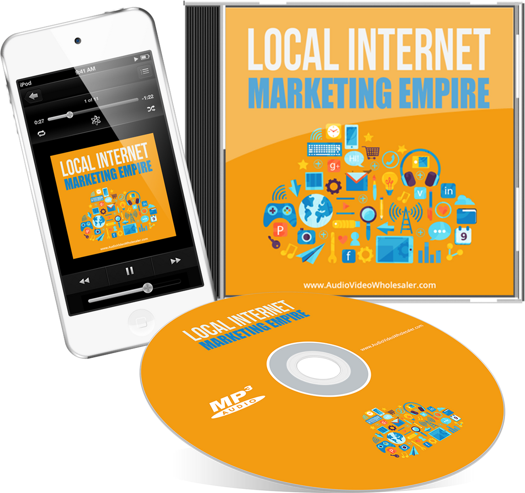 Local Internet Marketing Empire Audio Book (Master Resell Rights License)