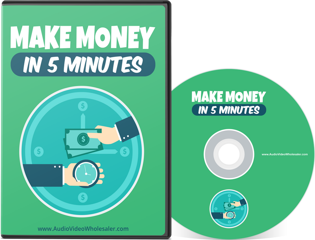 Make Money in 5 Minutes (Audio Video Course)
