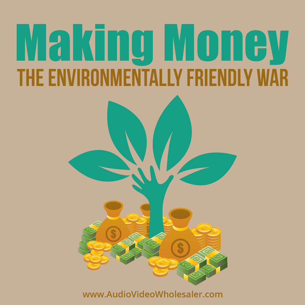 Making Money The Environmentally Friendly Way Self Help Audio Book (Master Resell Rights License)
