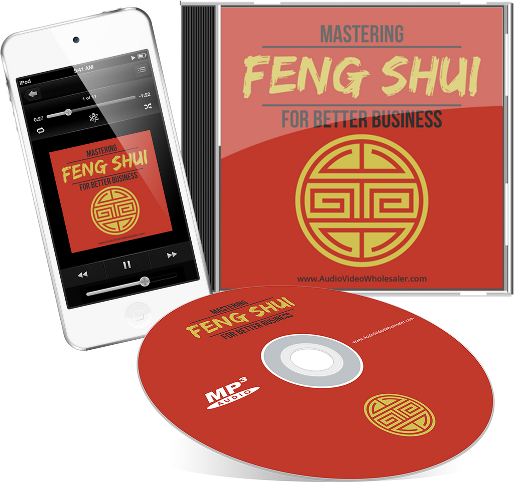 Mastering Feng Shui for Better Business Self Help Audio Book (Master Resell Rights License)