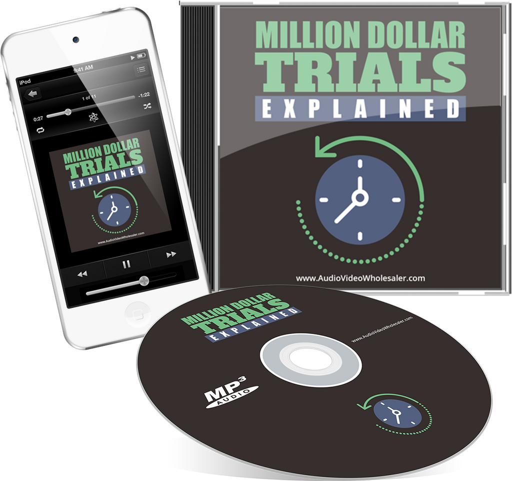 Million Dollar Trials Explained Audio Book (Master Resell Rights License)