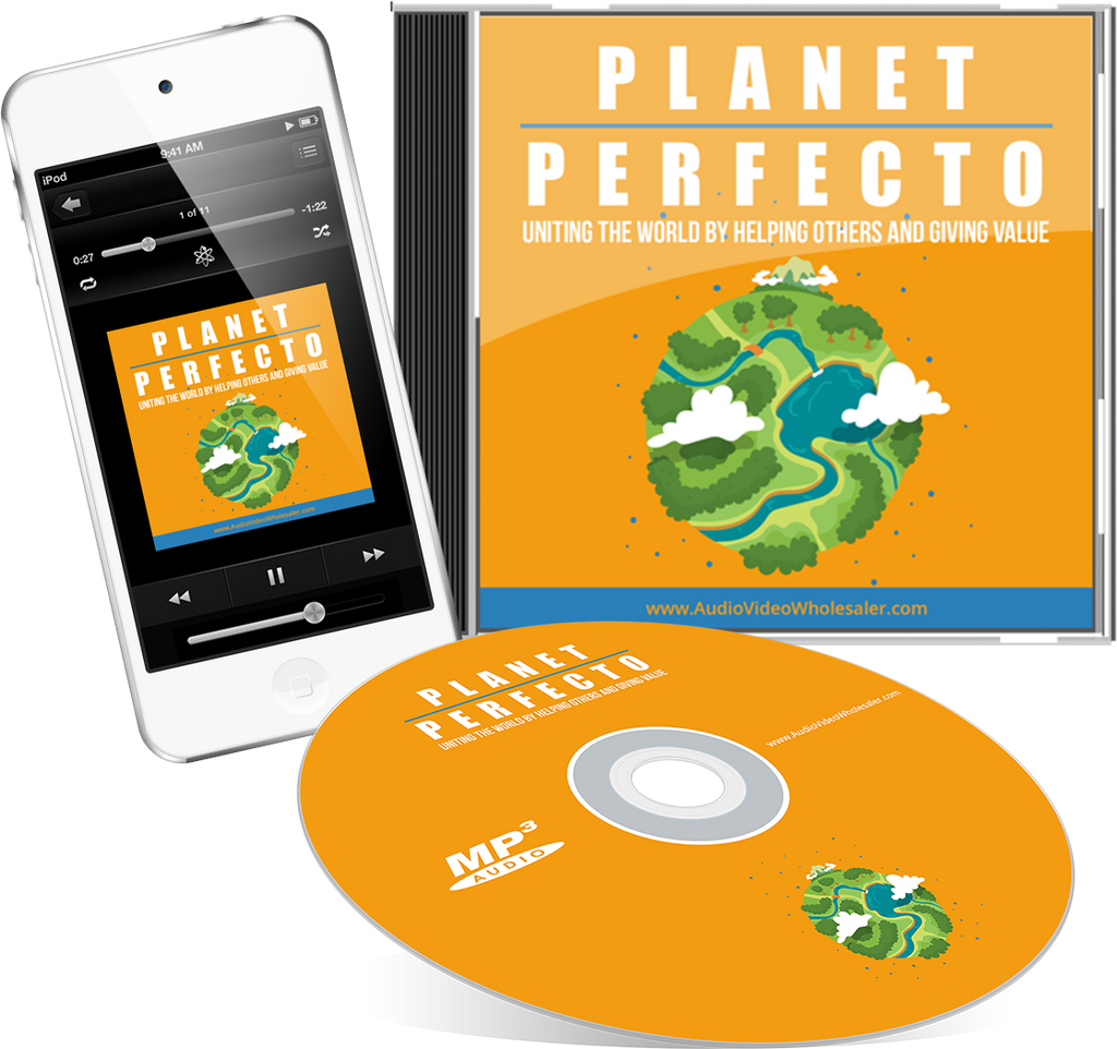 Planet Perfecto Audio Book (Master Resell Rights License)