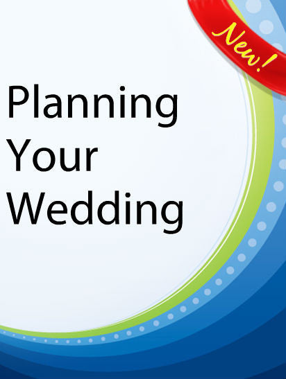 Planning Your Wedding  PLR Ebook