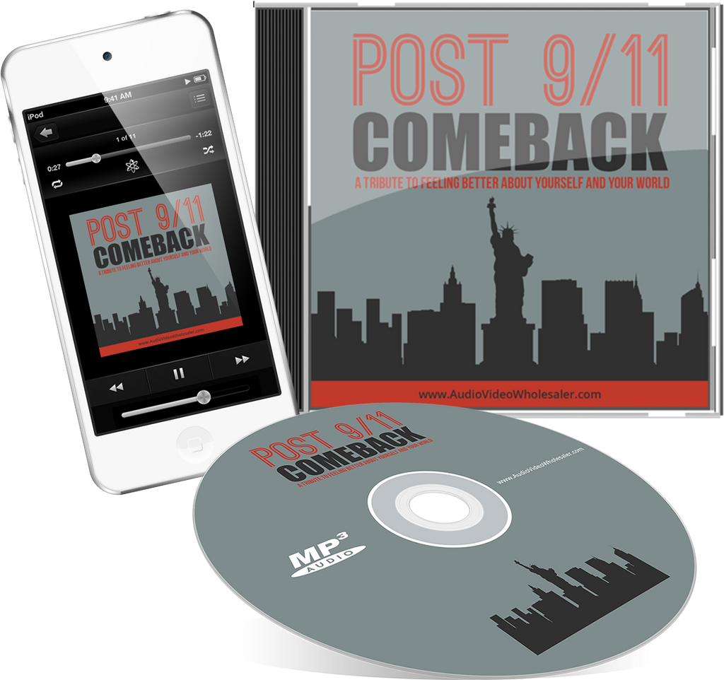 Post 911 Comeback Audio Book (Master Resell Rights License)
