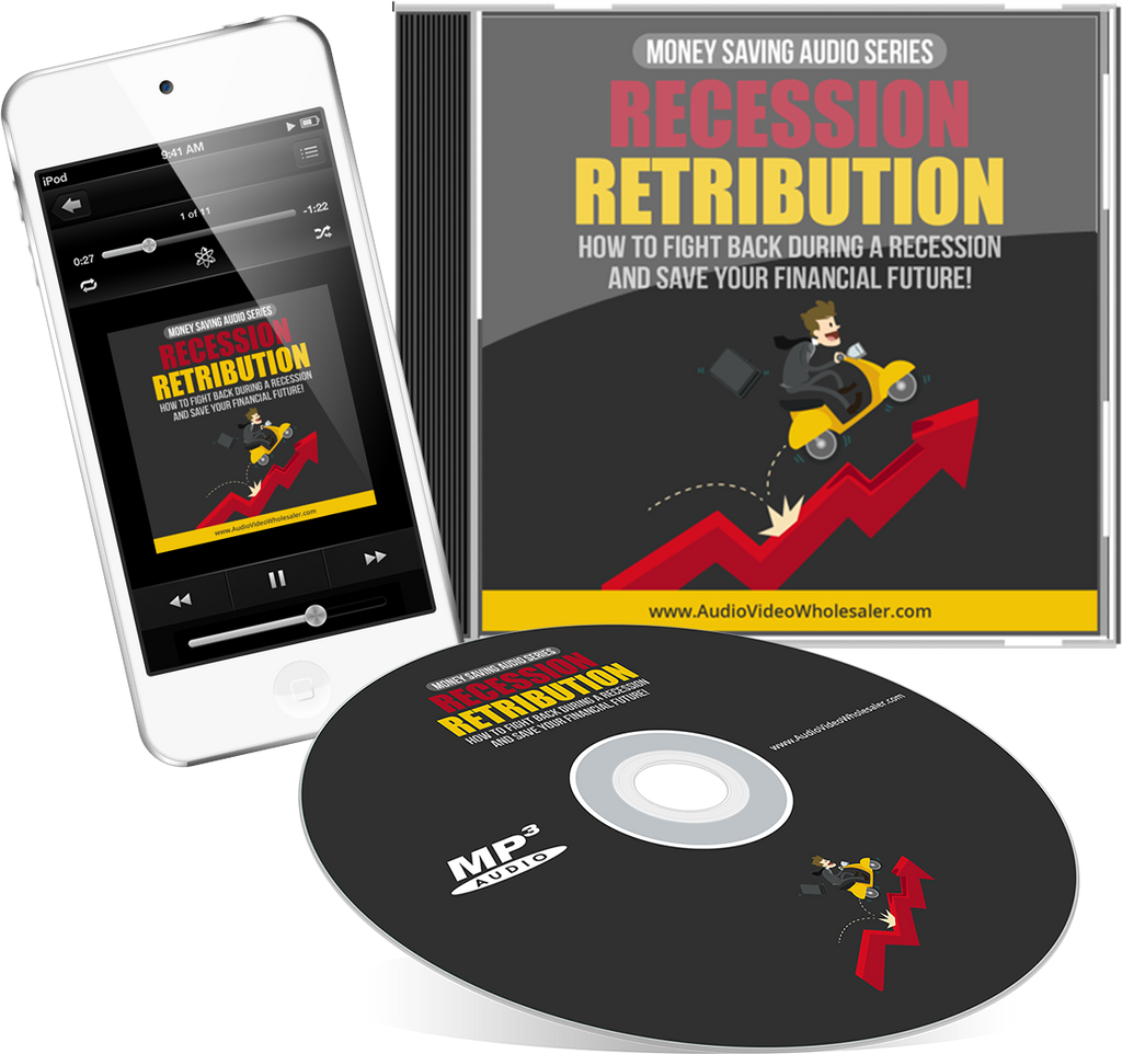 Recession Retribution Audio Book (Master Resell Rights License)