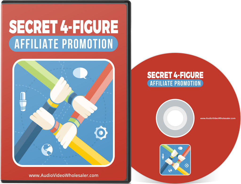 Secret 4-Figure Affiliate Promotion (Audio Video Course)