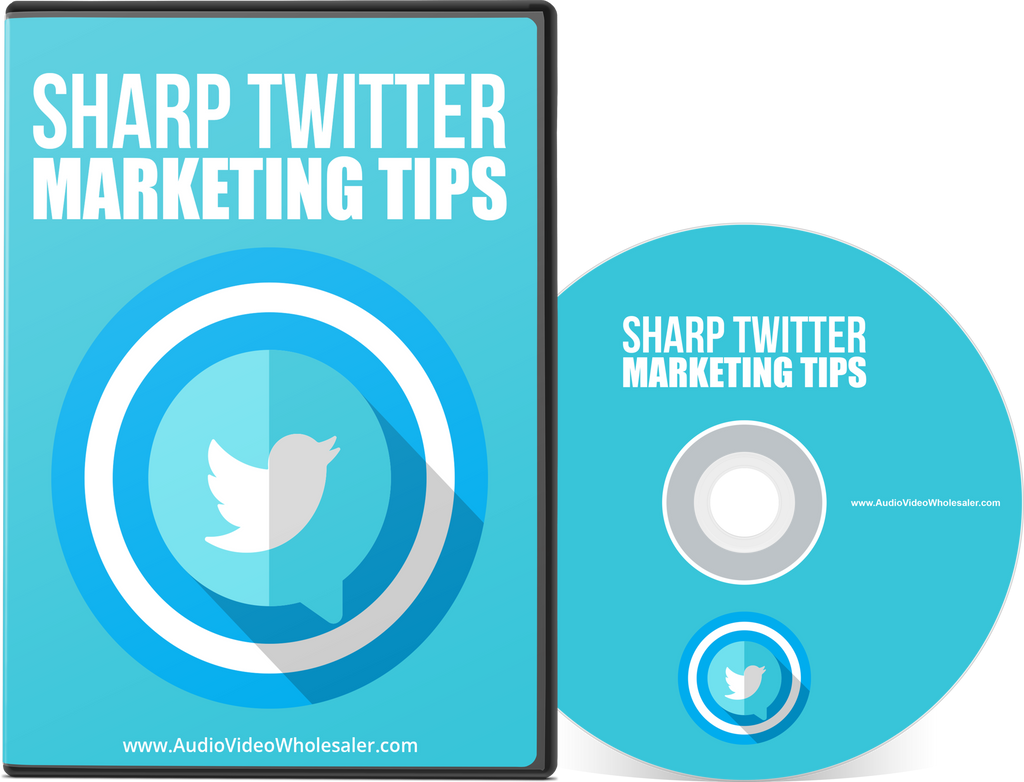 Sharp Twitter Marketing Tips (Audio Video Course)