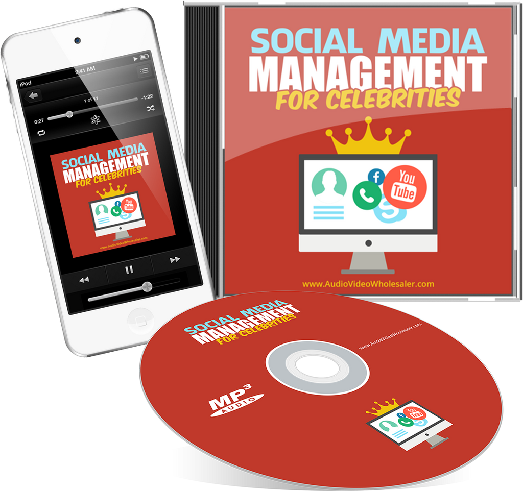 Social Media Management for Celebrities Audio Book (Master Resell Rights License)
