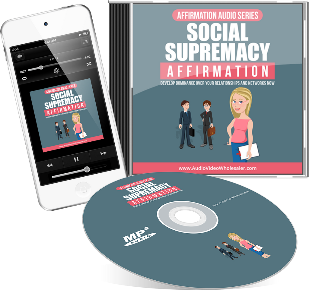 Social Supremacy Affirmation Expansion Audio Book (Master Resell Rights License)