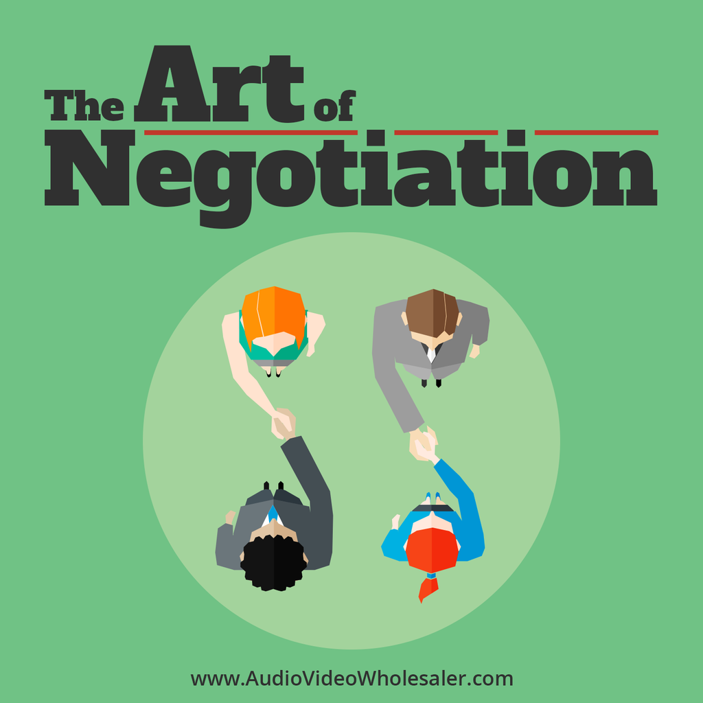 The Art of Negotiation Self Help Audio Book (Master Resell Rights License)