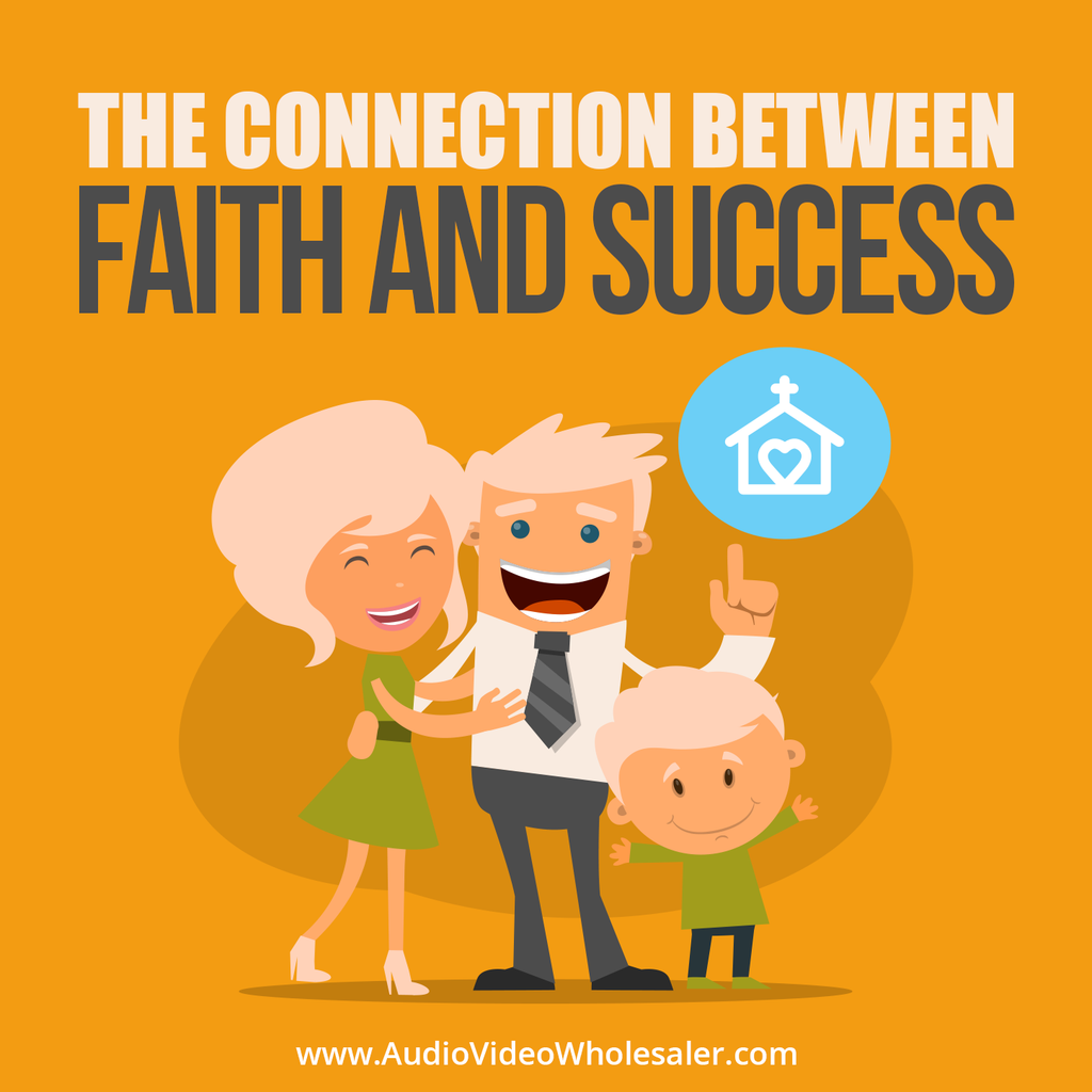 The Connection Between Faith and Success Self Help Audio Book (Master Resell Rights License)
