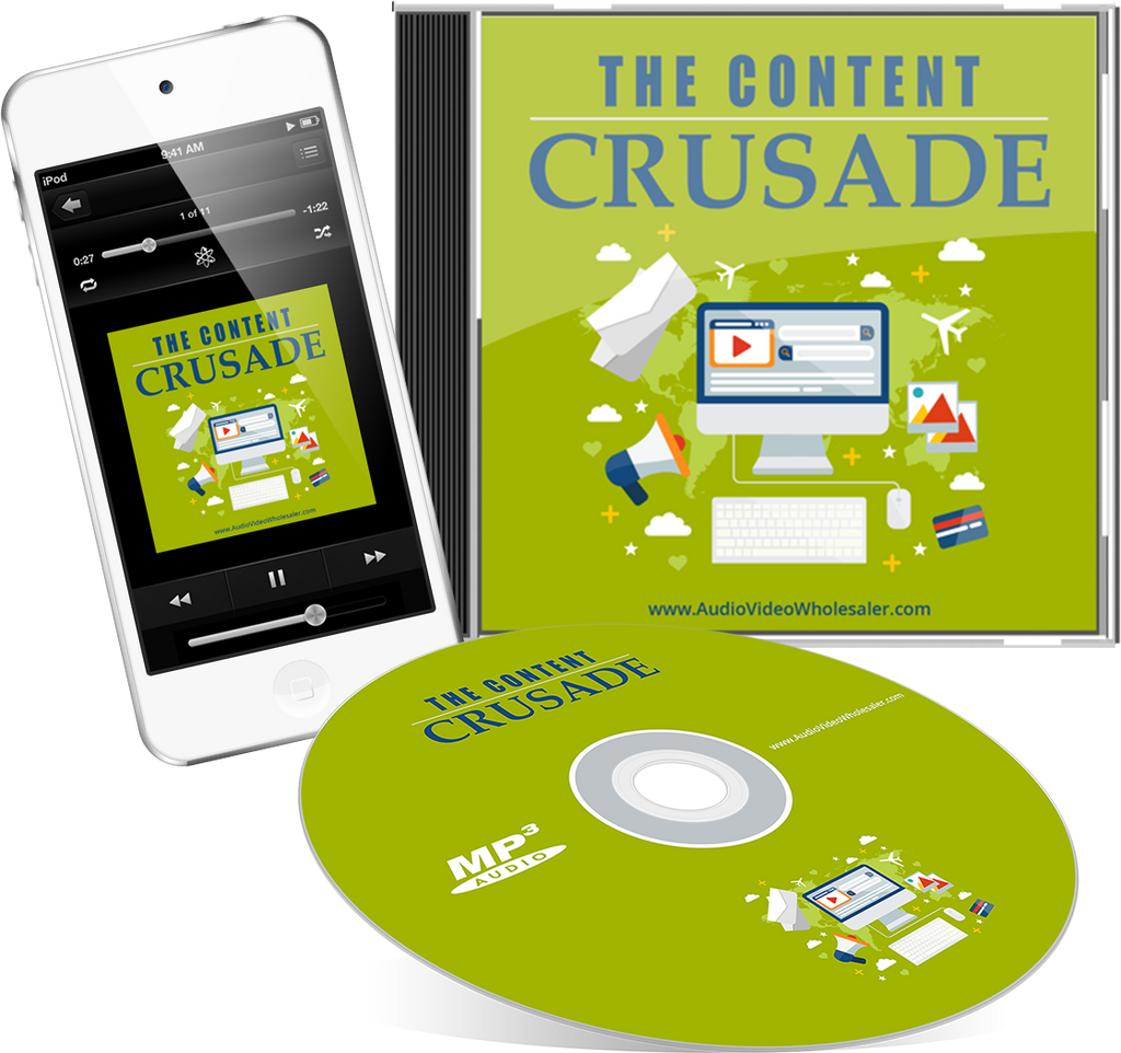 The Content Crusade Audio Book (Master Resell Rights License)