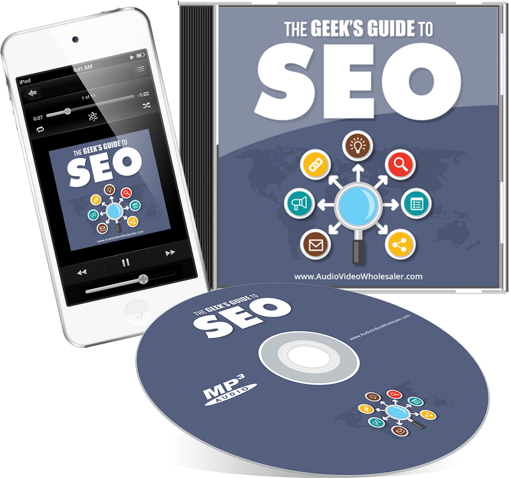 The Geek's Guide to SEO Audio Book (Master Resell Rights License)