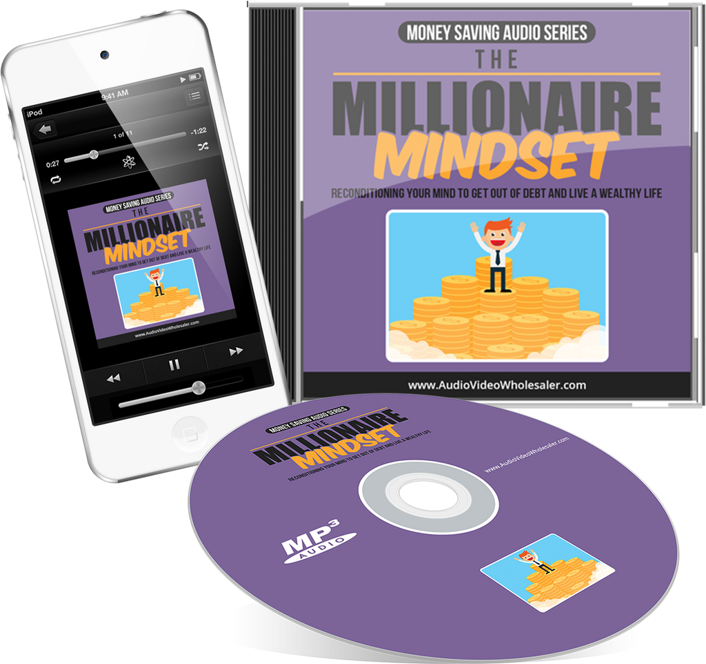 The Millionaire Mindset Audio Book (Master Resell Rights License)