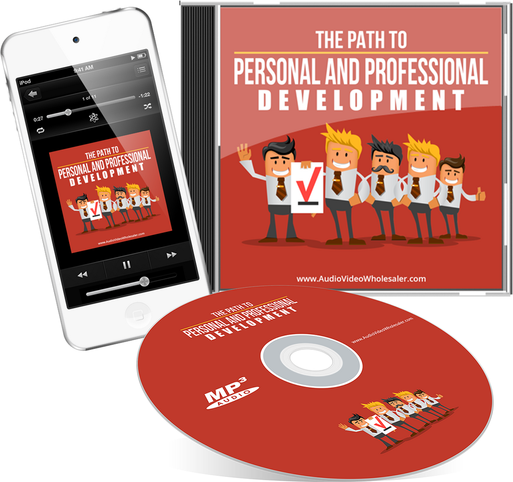 The Path to Personal and Professional Development Self Help Audio Book (Master Resell Rights License)