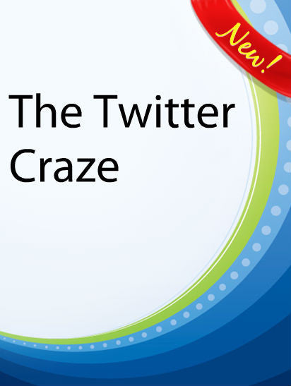 The Twitter Craze  PLR Ebook