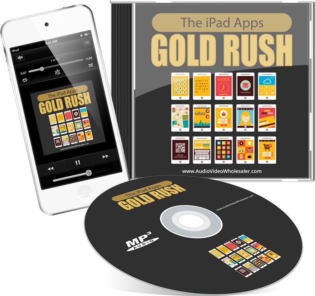 The iPad Apps Gold Rush Audio Book (Master Resell Rights License)