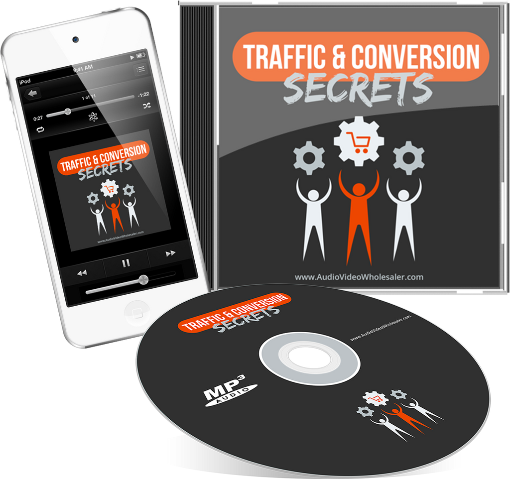 Traffic & Conversion Secrets Audio Book (Master Resell Rights License)