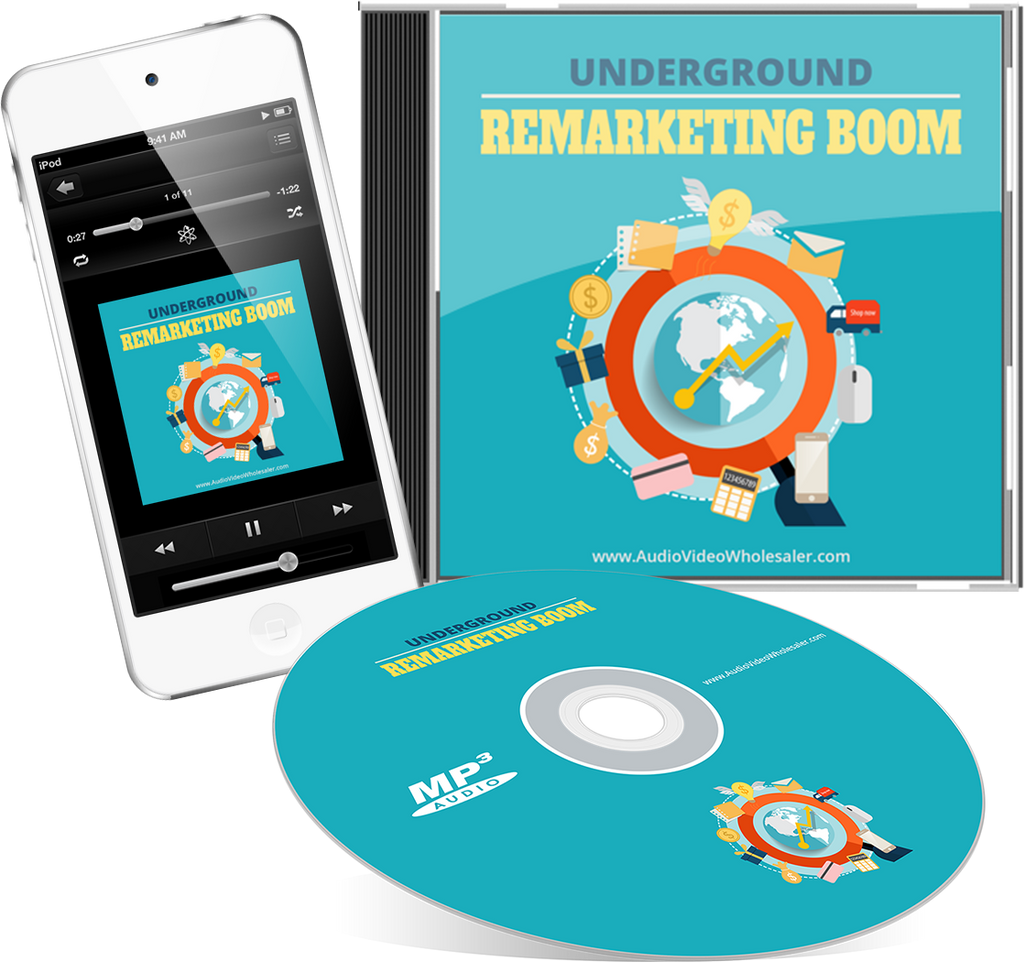 Underground Remarketing Boom Audio Book (Master Resell Rights License)